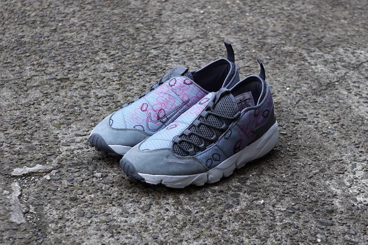 "Photo02 - ナイキから、桜をモチーフにしたmita sneakers提案モデルAIR FOOTSCAPE NM PREMIUM QS ""SAKURA""が発売"