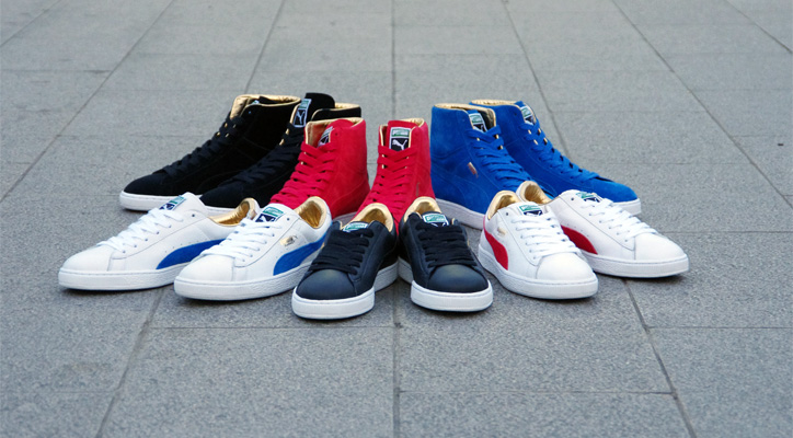 "Photo01 - Puma THE GOLD CLASSIC PACK ""LIMITED EDITION for The LIST"""