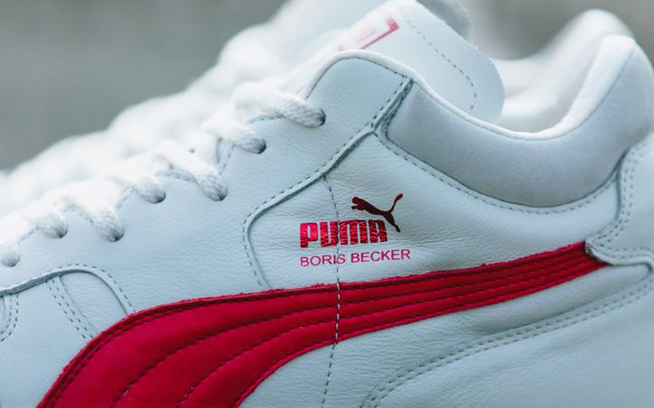 Photo04 - ドイツテニス界のスター選手BORIS FRANZ BECKER氏のシグネチャーモデル Puma BECKER OG LEATHER が復刻