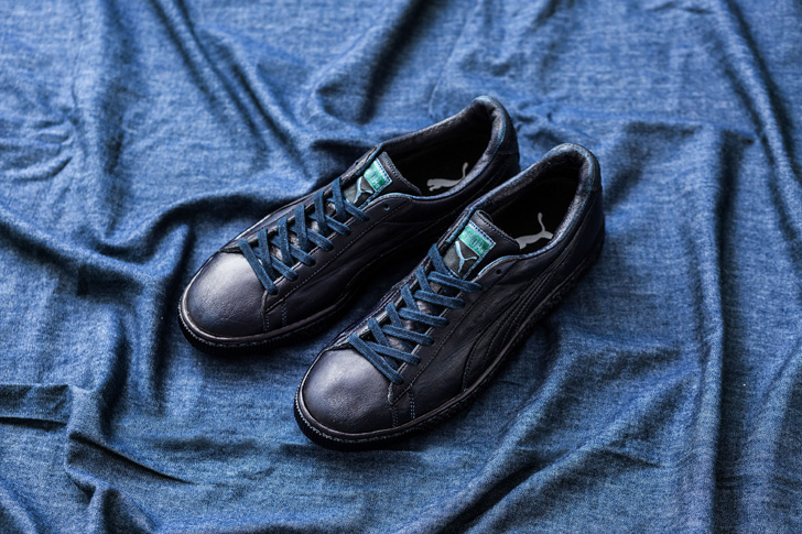 Photo05 - プーマから、日本の伝統技法である藍染を採用したPUMA STATES INDIGOを発表