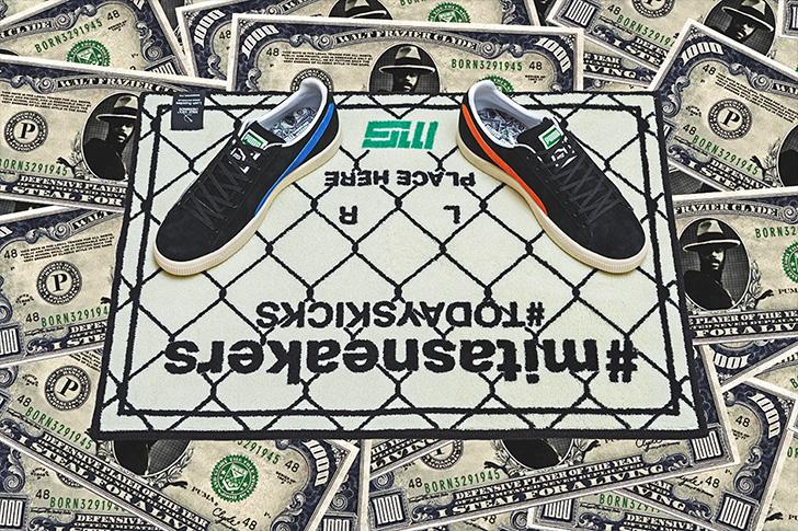 "Photo06 - プーマは、オリジナルのドル札紙幣をプリントしたmita sneakersとのコラボレーションモデルCLYDE ""mita sneakers""を発売"