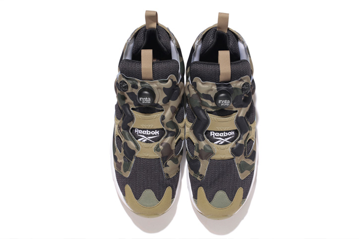 "Photo02 - Reebok INSTA PUMP FURY OG ""A BATHING APE® x mita sneakers"" が発売"
