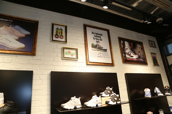 Photo06 - Reebok CLASSIC初の直営店が原宿キャットストリートにオープン