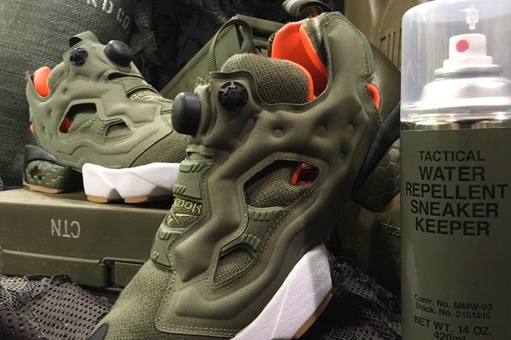 """Photo03 - リーボック クラシックから、Winiche & Co.とmita sneakersによるコラボモデルINSTA PUMP FURY OG """"FLIGHT JACKET""""が登場"""