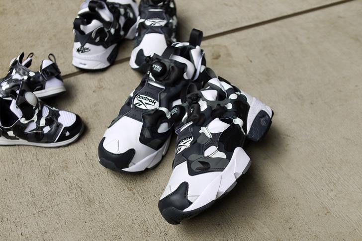"""Photo05 - リーボックは、mita sneakersとA BATHING APE®とのコラボモデル第3弾INSTA PUMP FURY """"CITY CAMO""""を発売"""