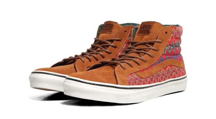Photo01 - VANS CALIFORNIA – F/W 2012 – SK8-HI SLIM CA ZIG ZAG