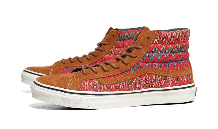 Photo03 - VANS CALIFORNIA – F/W 2012 – SK8-HI SLIM CA ZIG ZAG