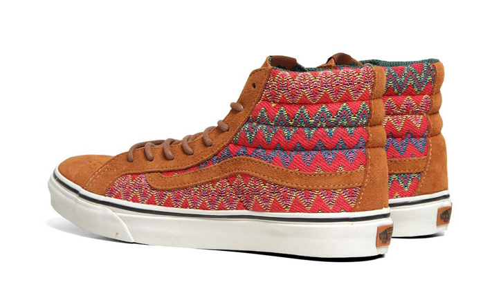 Photo04 - VANS CALIFORNIA – F/W 2012 – SK8-HI SLIM CA ZIG ZAG