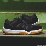リーク AIR JORDAN 11 LOW BLACK/WHITE GUM