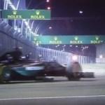 珍騒動動画 F1 Singapore Grand Prix 2015