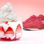 "海外2月6日発売予定 ASICS GEL LYTE Ⅲ ""Strawberries & Cream"""