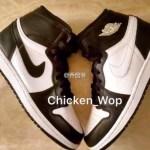 リーク 2017年発売予定 Nike Air Jordan 1 Retro High OG Black/white