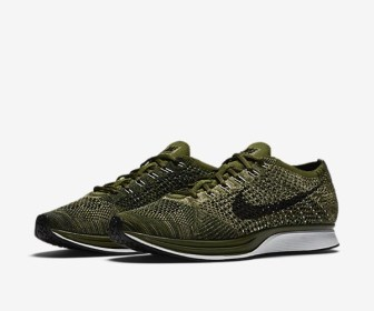 "12月9日発売予定 Nike Flyknit Racer ""Rough Green"""