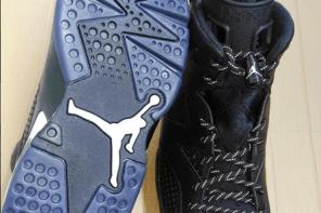Imagens Detalhadas Do Air Jordan 6 'Black Cat'