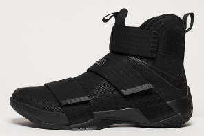 Nike LeBron Soldier 10 'Triple Black'
