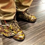 Jeremy Scott Adidas Army Wings at the Beverly Center in Los Angeles