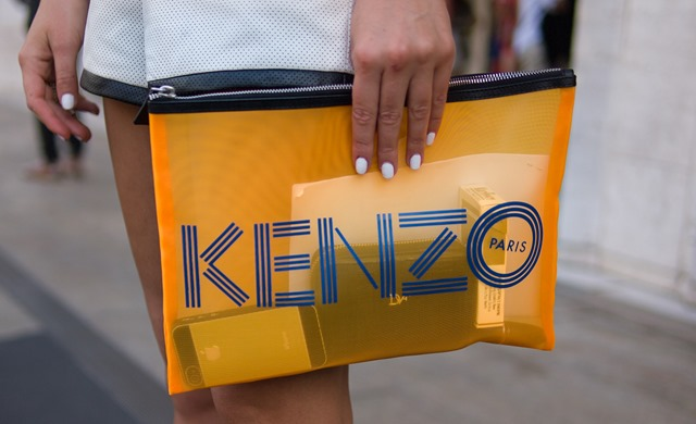 Kenzo bag, New York Fashion Week S/S 2014 Street Style