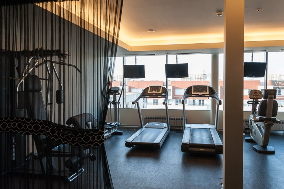 Fitnessbereich, Falkensteiner Hotel, Belgrad