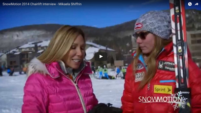 Chairlift Interview – Mikaela Shiffrin