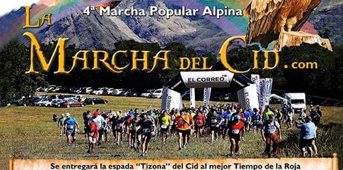 4ª marcha popular alpina, subida a la tesla