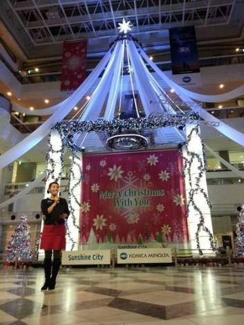 KONICA MINOLTA(コニカミノルタ)クリスマスツリーイベントで、おもてなしに感動