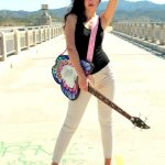 Natasha just got endorsed by Daisy Rock Guitars