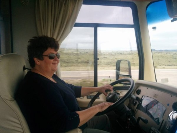 queen of the road rving ladies share their best driving tips the snowmads. Black Bedroom Furniture Sets. Home Design Ideas