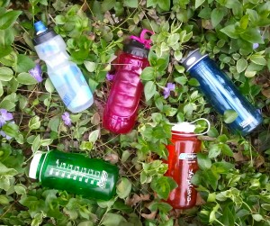 Keeping a reusable water bottle nearby at all times helps to ensure adequate hydration. Using water bottles that measure liquids can keep you on track.