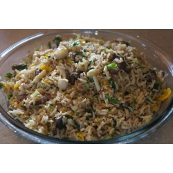 Small Crop Of Mushroom Fried Rice