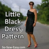 Free Little Black Dress Pattern