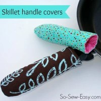 Hot Pan or Skillet Handle Cover - kitchen sewing series