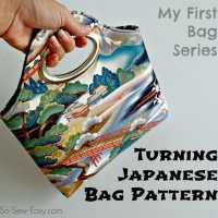 Free bag pattern - Turning Japanese Bag