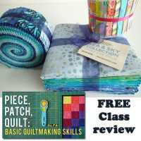 Piece, Patch, Quilt - free beginners quilting class