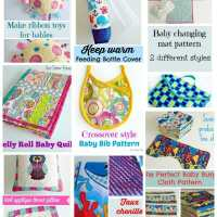 Sewing for babies - baby shower gifts to sew