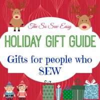 Holiday Gift Guide - for people who sew