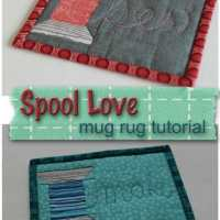 Spool Love Sewing Mug Rug Pattern