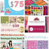 Lots of sewing goodies giveaway