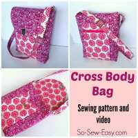 Cross Body Bag pattern - POTM