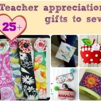Teacher Appreciation Gifts to sew