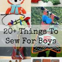 Round up - Things to sew for boys