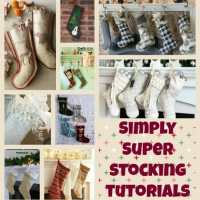 Christmas stockings patterns, simple and super!