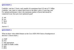 CCNA Exam 642-353 – Cisco Storage Network Design