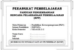 Perangkat Pembelajaran PKN SMP Kelas 7,8,9 KTSP