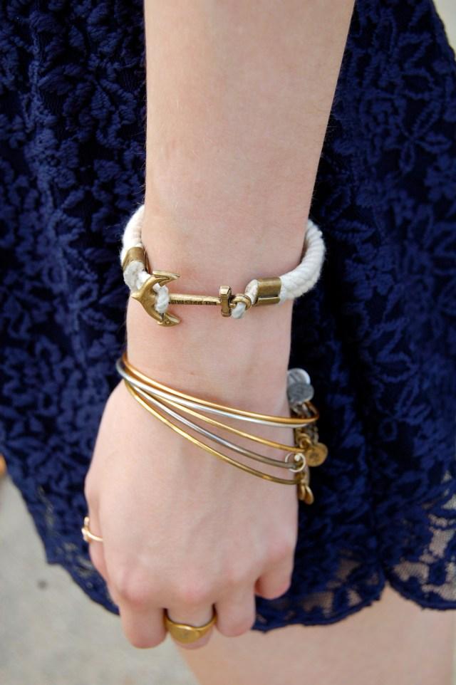 kiel james patrick rope bracelet