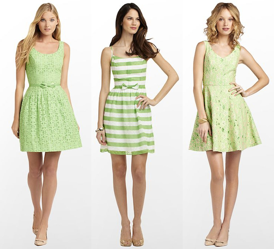 green lilly pulitzer dresses