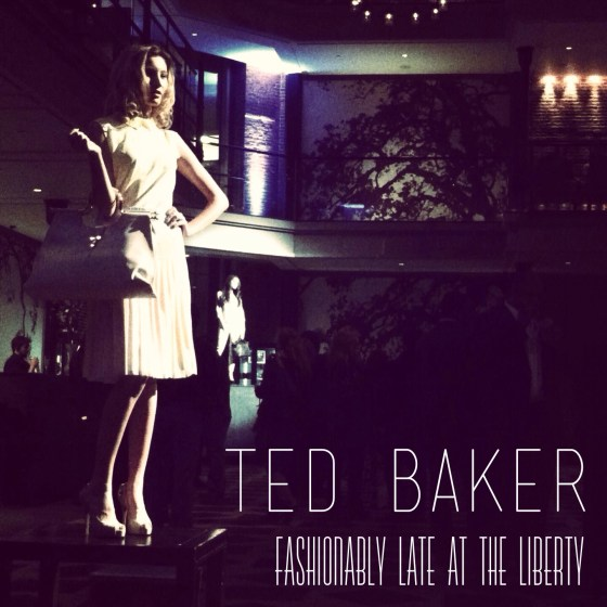 ted baker boston fashion show