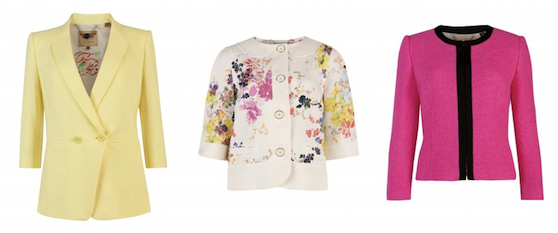 ted baker summer jackets