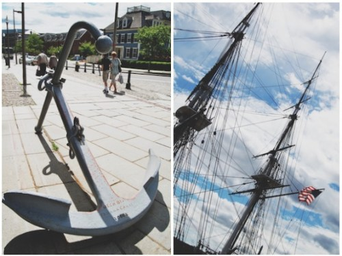 charlestown navy yard anchor
