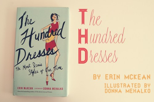 the hundred dresses fashion illustration book