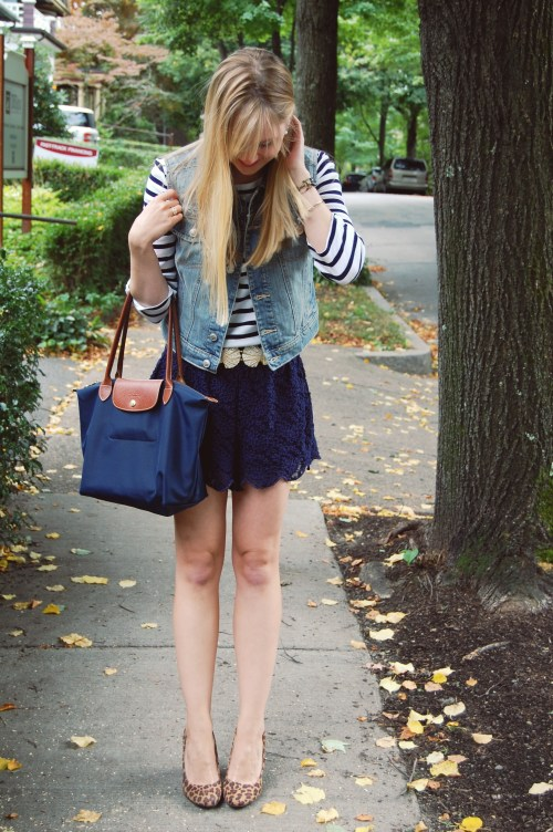 navy fashion for fall